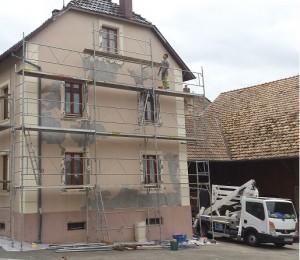 Facadier à Rieux-Minervois